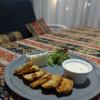 Куриное филе с рисом и сырным соусом Pahlava