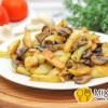 Картошка с грибами Наше кафе