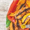 Овощи на мангале / Grilled vegetables Granat