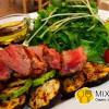 Теплый салат с телятиной и грилированными овощами Sorrento