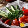Сет зі свіжих овочів Хінкальня